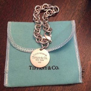 Retired Return to Tiffany bracelet - Never Worn